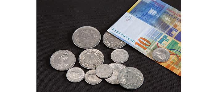 Швейцарский франк как выглядит